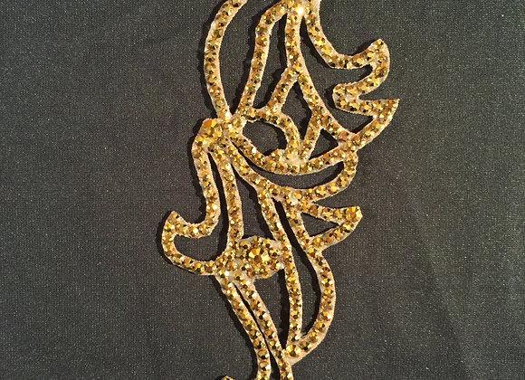 Aurum (Gold) Hair Piece (EF 012)