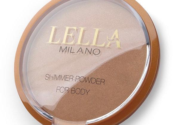 LELLA MILANO Shimmer Powder For Body