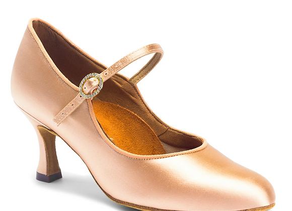 """International Dance Shoes (ICS CLASSIC/ 2"""" Flared Heel)"""