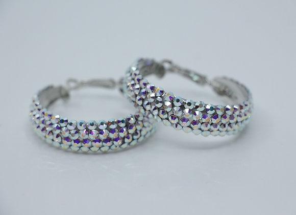 Earrings - Crystal AB