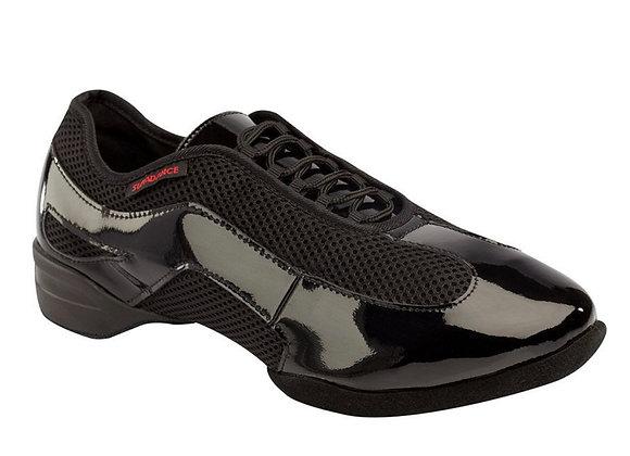 Supadance Style 8010 - Black Patent/Mesh