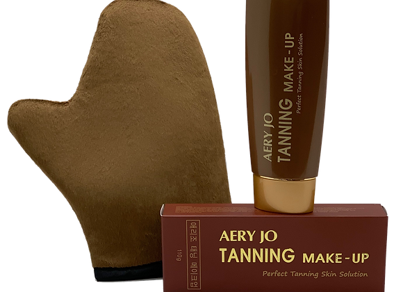 Tanning Lotion + Tanning Glove