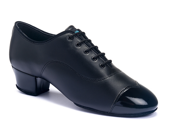 International - Rumba Duo (Black Leather/Patent)