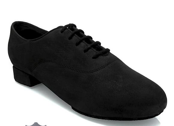 335 Windrush- Black Nubuck Leather