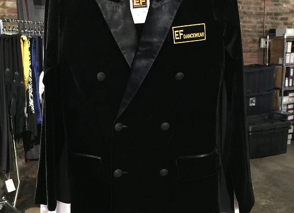 Men's Smooth Jacket (Black Velvet)