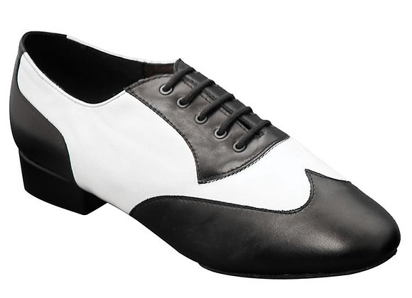 Ray Rose 338 BLK/White Leather(UNISEX)