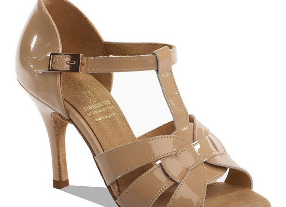 Supadance 1176 (Nude Patent Leather)