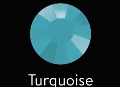 Earrings   Hoops - Turquoise