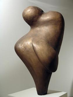 Empfindung 50x60x100cm Bronze