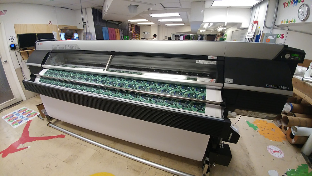 New Solvent Printer - OKI ColorPainter H3-104s