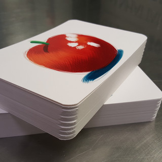 Color Postcards - Round Corners