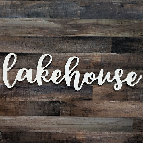 Dimensional Lakehouse Sign