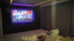 Home theater system by Streamline Tech. Gulf Coast Mississippi