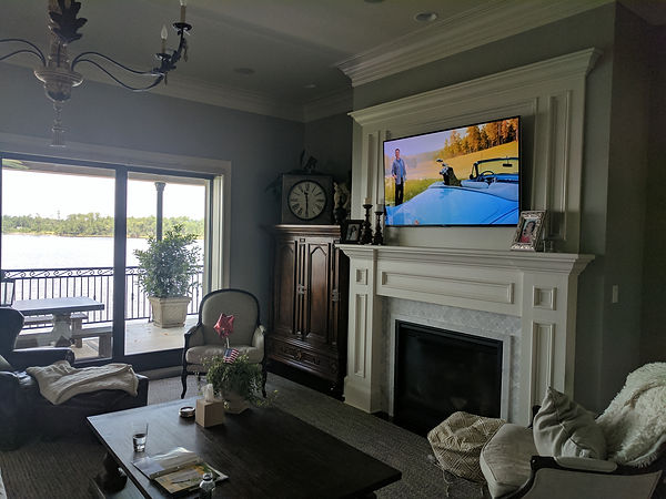 TV Install by Streamline Tech in Biloxi MS
