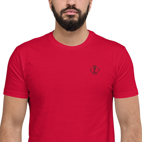 Loxicom Short Sleeve Fitted T-shirt