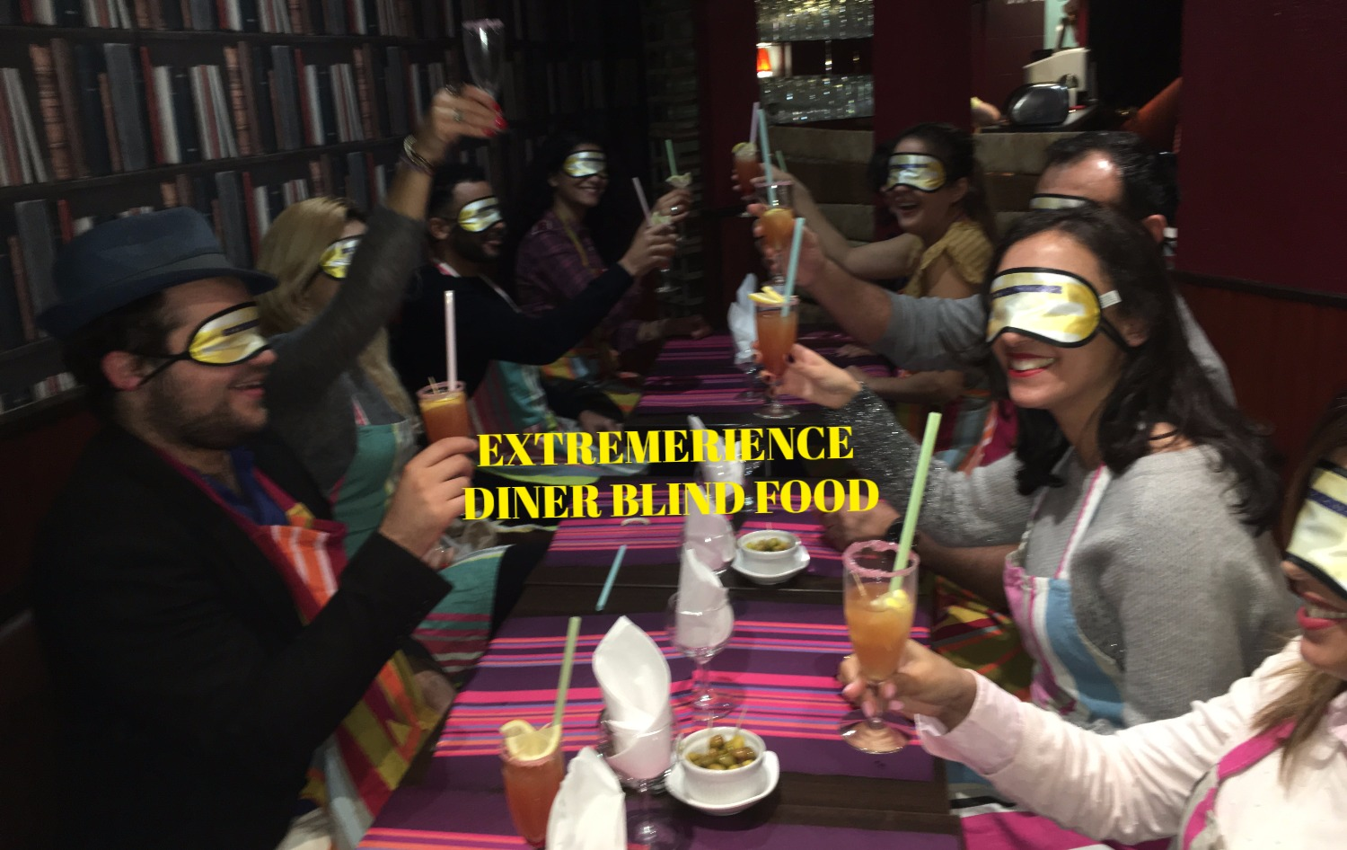 Extrèmerience Blind Food