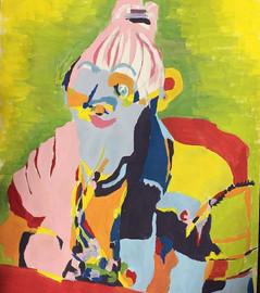 Painted Blind Contour