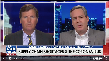 Mr. Supply Chain with Tucker Carlson on Fox News.