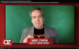 Mr. Suppy Chain on Dr. Oz