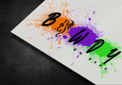 Logo Mockup Bawdy