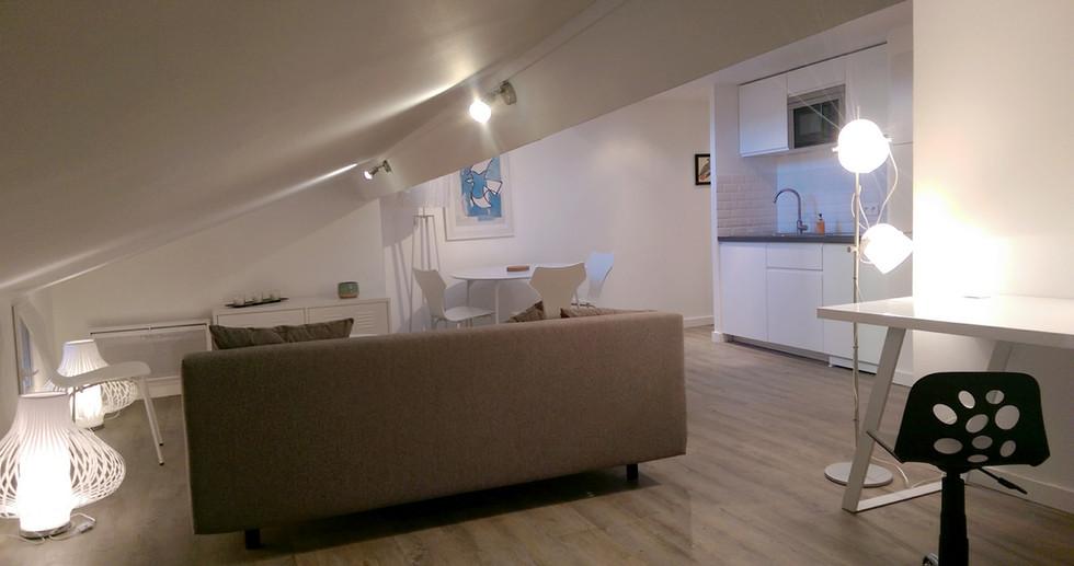 Rénovation d'un appartement étudiant -Lyon