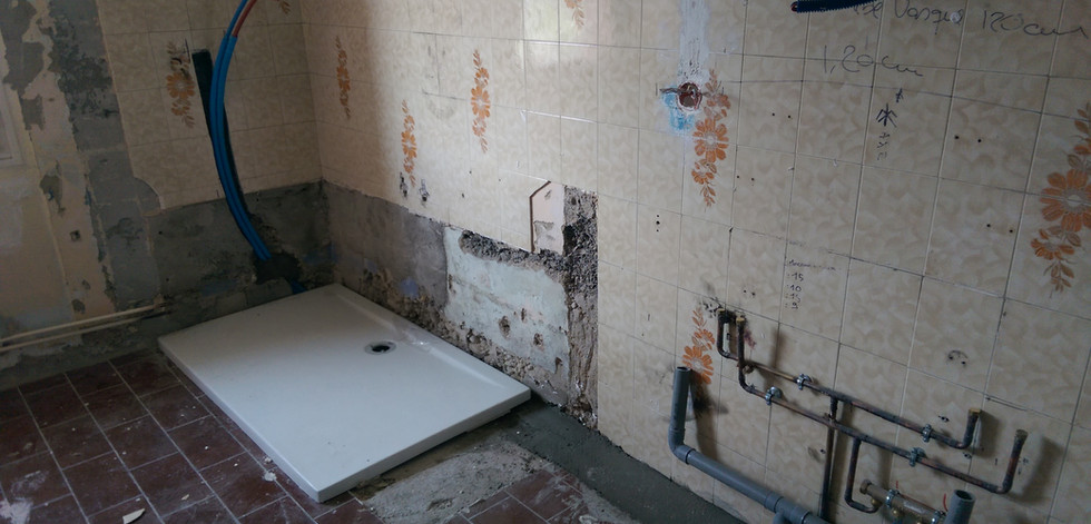 Rénovation totale d'une maison - 69500 Bron