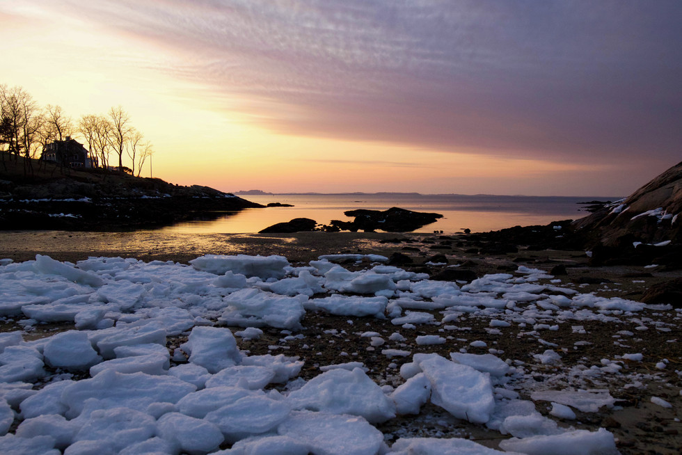 Plum Cove Sunset 2