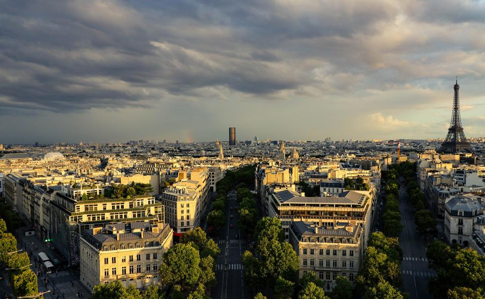 Parisian Golden Hour