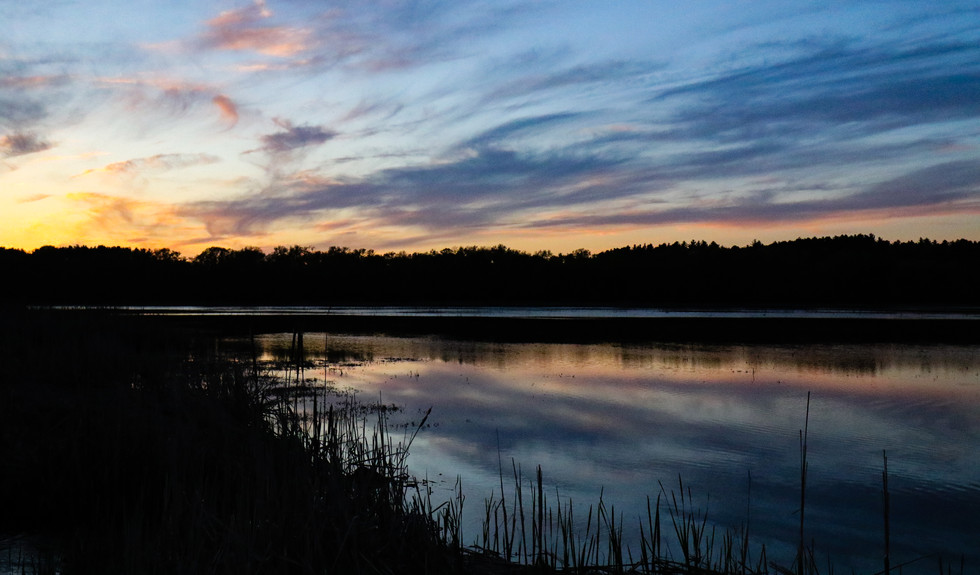 A Marsh Sunset