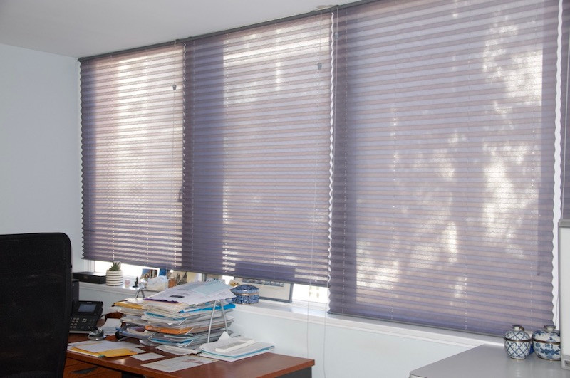 New blinds at Specialist Rooms, St Leonards, NSW