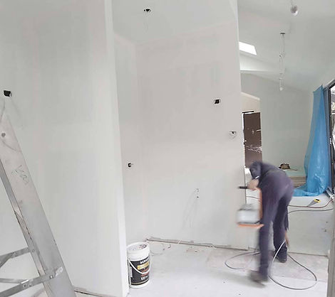 Home reno Epping,plasterboard underconstruction