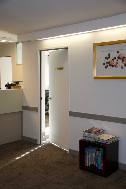 Waiting room at Specialist Rooms, St Leonards NSW