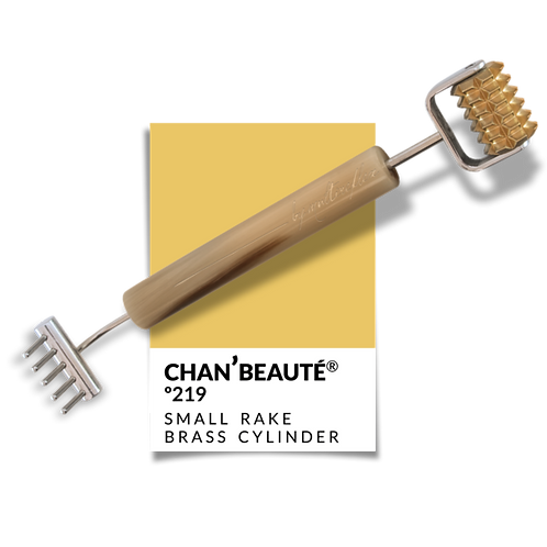 Nº219: SMALL RAKE - TOOTHED BRASS CYLINDER