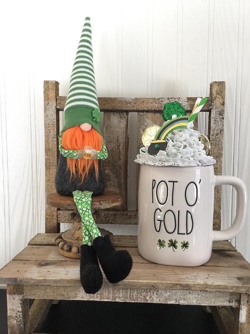 "14"" St. Patricks Day Gnome"