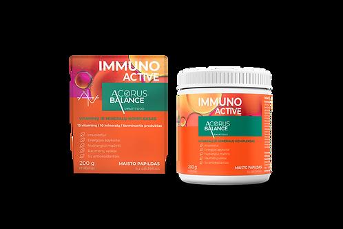 IMMUNO ACTIVE, vitamīnu un minerālvielu komplekss, 200 g