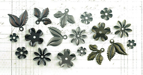 Tim Holtz Idea-ology Foliage Embellishments