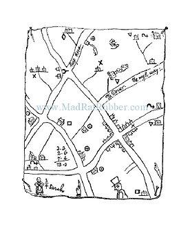 V147 Hobo or Tramp Map