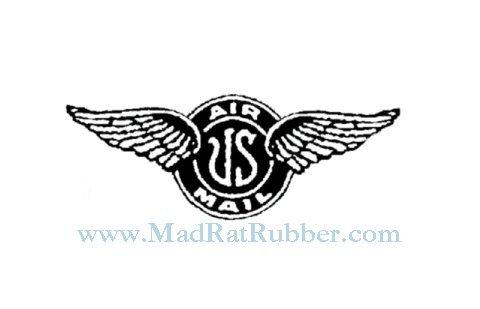 V682 US Air Mail Wings Insignia
