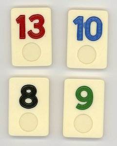 Number Game Tiles