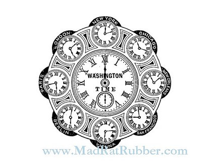 V687 World Travel Clock