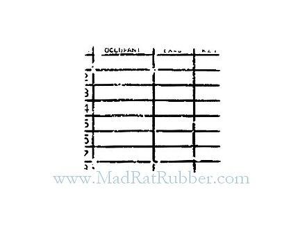 V490 Occupant Chart