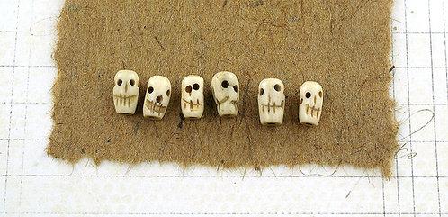 Bone Skull Beads