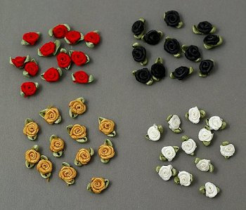 Rosette Appliqués Assortment