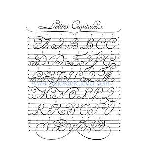 V535 Lettres Capitalea