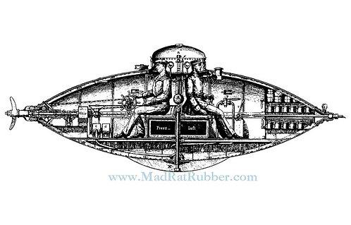 V684 Submarine Diagram
