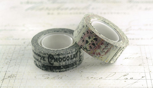 Tim Holtz Idea-ology Tissue Tape Nostalgic