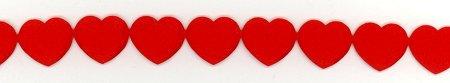 Satin Hearts Ribbon