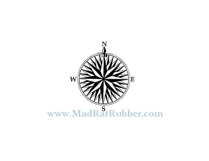M232 Small Compass Rose