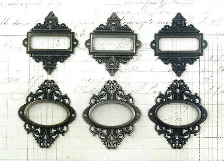Tim Holtz Idea-ology Ornate Plates