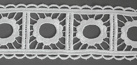 Flower Circle Lace Ribbon